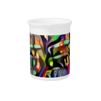 Colour ship pitcher