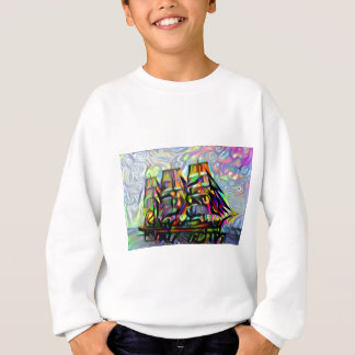 Colour ship sweatshirt
