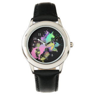 Colour Splash Fantasy Rainbow Unicorn Watch