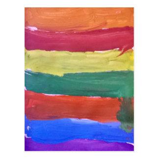Colour Splash Postcard