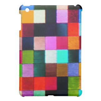 Colour Spotted Multicolour Patchy Design Case For The iPad Mini