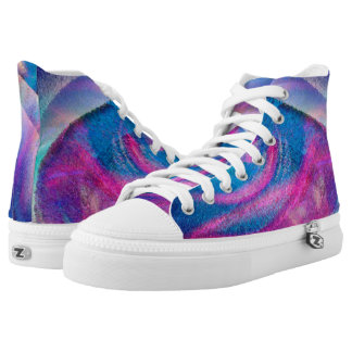 Colour Storm Custom High Top Shoes Printed Shoes