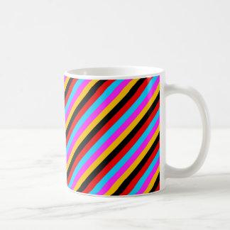 Colour Stripe 01 Basic White Mug