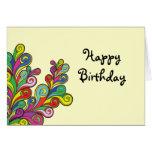 Colour Waves Happy Birthday