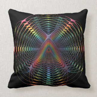 Colour Web Fractal Cushion