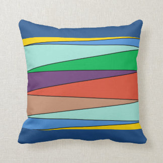 Colour Zigzag Pattern Scatter Cushion