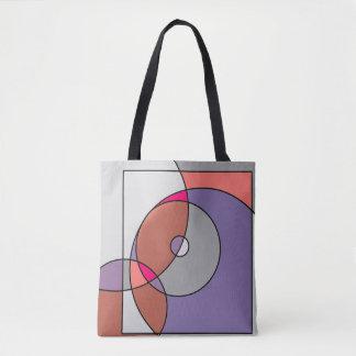 Coloured artwork bag