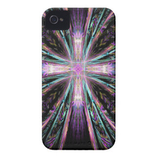 Coloured Cross iPhone 4 Cover
