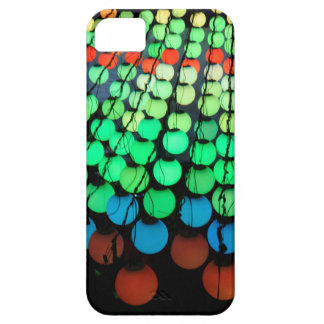 Coloured Disks Barely There iPhone 5 Case