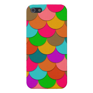 Coloured Flakes iPhone 5 Covers