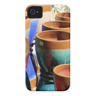 Coloured garden plant pots Case-Mate iPhone 4 cases