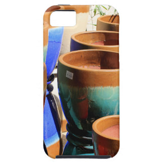 Coloured garden plant pots iPhone 5 covers