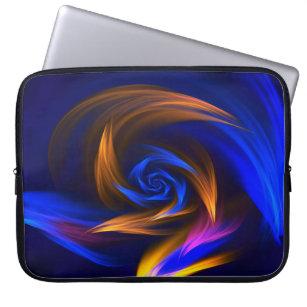 Coloured laptop sleeve from neoprene