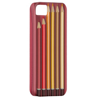 Coloured pencils covert case iPhone 5 covers