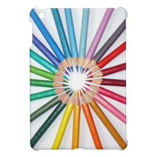 COLOURED PENCILS iPad MINI COVER