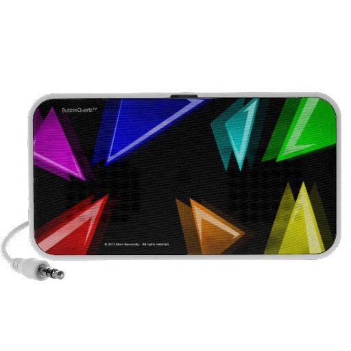 Coloured shards Doodle speaker