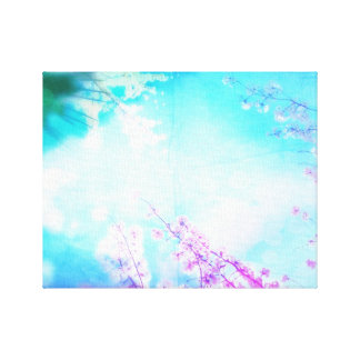 Coloured Spring Gallery Wrapped Canvas