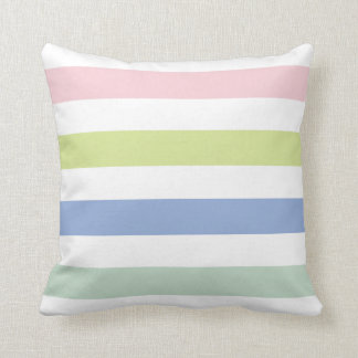 Coloured Stripes American Mojo Pillow Cushion