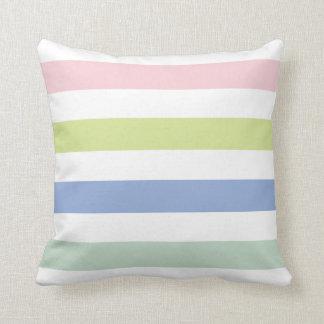 Coloured Stripes American Mojo Pillow/Cushion Throw Cushion