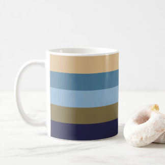 Coloured Stripes Mug