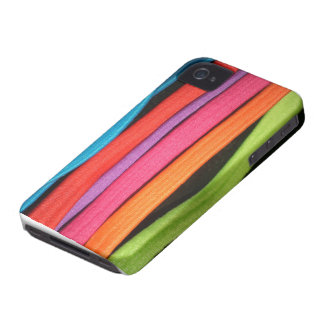 Coloured Stripes pattern theme iPhone 4 Cover