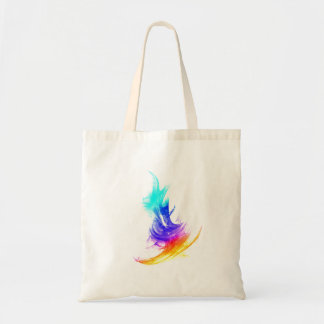 Coloured Stroke small Canvas Bag
