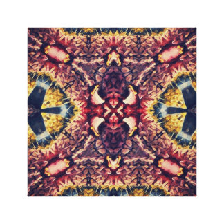 Coloured woollen article canvas print