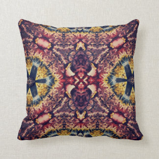 Coloured woollen article throw pillow