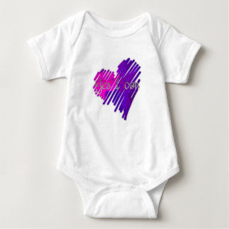 Coloured Yes I Can Baby Bodysuit