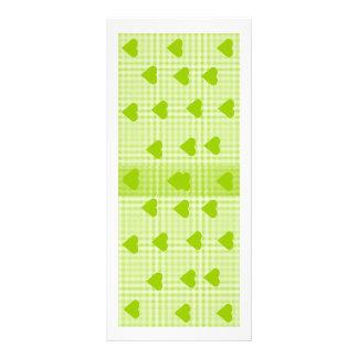 Colourful Abstract Art Book mark Rack Card Template