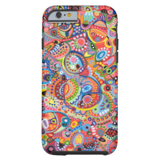 Colourful Abstract Art iPhone 6 case Tough iPhone 6 Case
