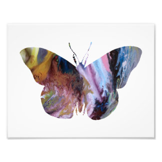Colourful abstract Butterfly silhouette Photograph