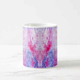 colourful abstract coffee mug