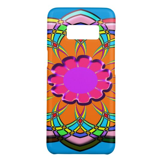 Colourful abstract flower Case-Mate samsung galaxy s8 case