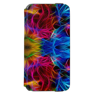 Colourful abstract Pattern Case Incipio Watson™ iPhone 6 Wallet Case