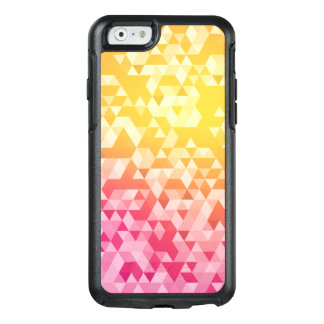 Colourful Abstract Triangle Pattern OtterBox iPhone 6/6s Case