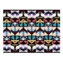 Colourful Abstract Weave Pattern