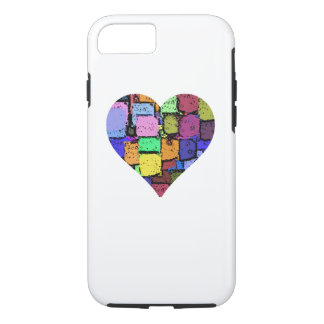 colourful animated heart iPhone 7 iPhone 7 Case