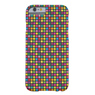 Colourful Argyle Pattern ( Black ) - iPhone 6 Case Barely There iPhone 6 Case