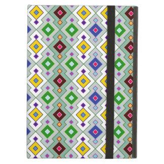 Colourful Argyle Rhombic Diamond Pattern iPad Air Case