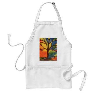 Colourful Artistic Tree Apron