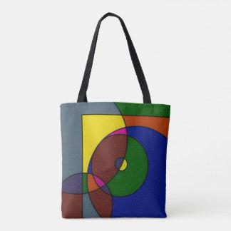 Colourful artwork bag