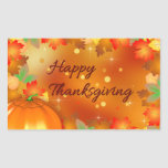 Colourful Autumn Leaves - Thanksgiving Sticker