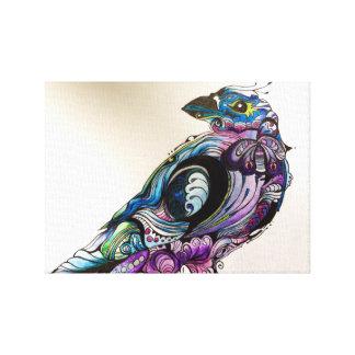 Colourful Bird Canvas Print
