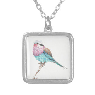 Colourful Bird Necklace