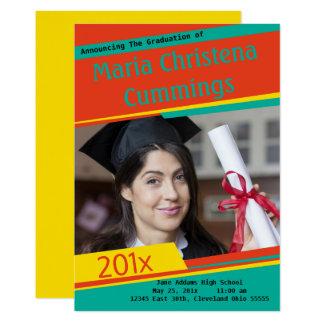 Colourful Blocking Graduate  Announcement