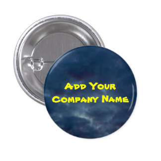Colourful Blue Skies 3 Cm Round Badge