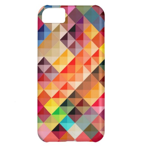 COLOURFUL BOHEK SQUARES PATTERNS BACKGROUNDS DIGIT iPhone 5C CASES