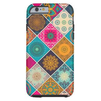 Colourful Bohemian Mandala Patchwork Tough iPhone 6 Case