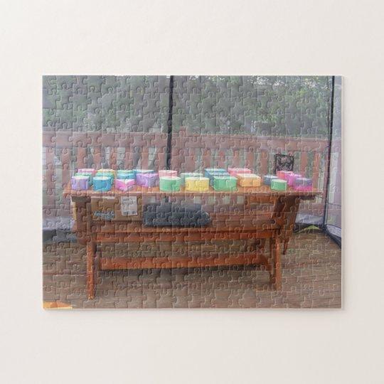 Colourful Boxes Puzzle
